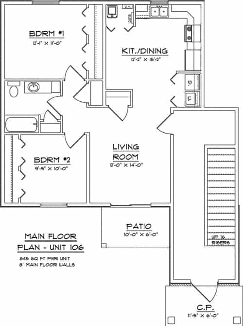 Commerece Park Place Apartments Dubuque Iowa-121